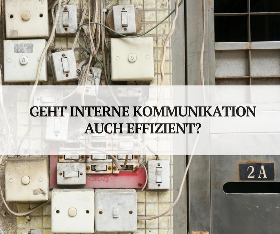 Anwendungen für effektive, interne Kommunikation