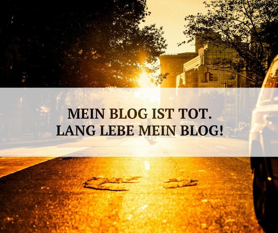 5 lebenserhaltende Maßnahmen für deinen Blog.
