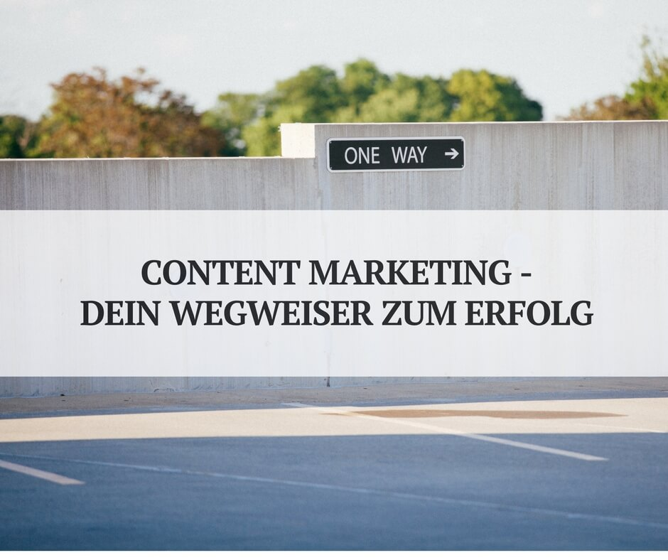 Content Marketing professionell angehen.