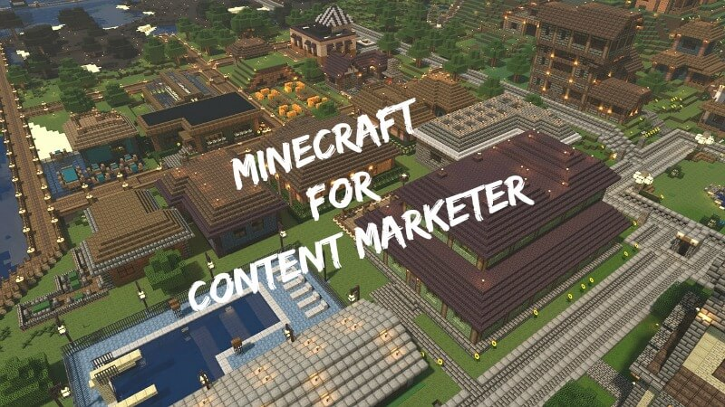 minecraft für content marketing