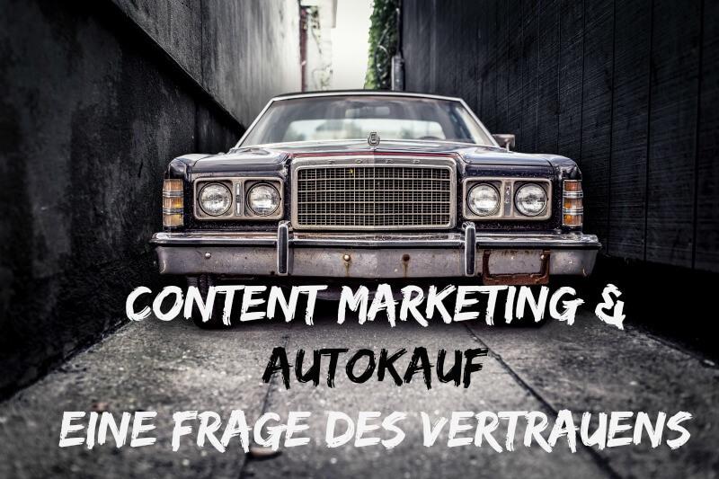 Vertrauen beim Content Marketing