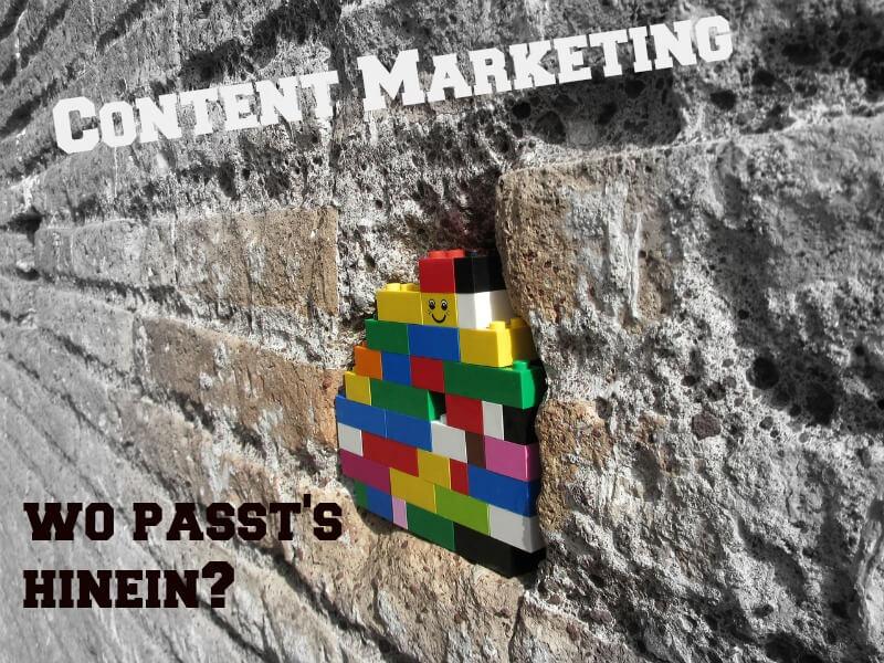 content marketing verorten