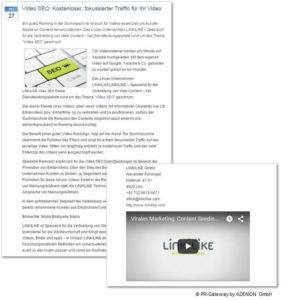 Multimedialer Content