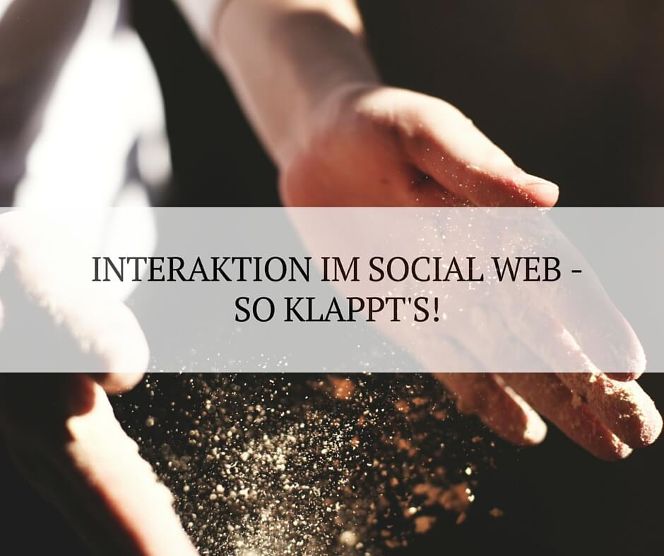 Engagement im Social Web