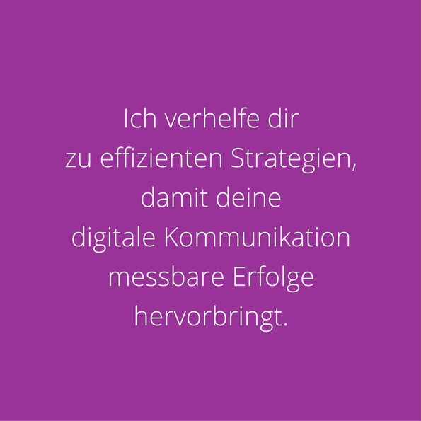 Digitale Kommunikation mit Strategie KEEN COMMUNIACTION