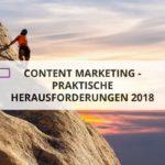 Content Marketing in der Praxis - Herausforderungen erfolgreich nehmen