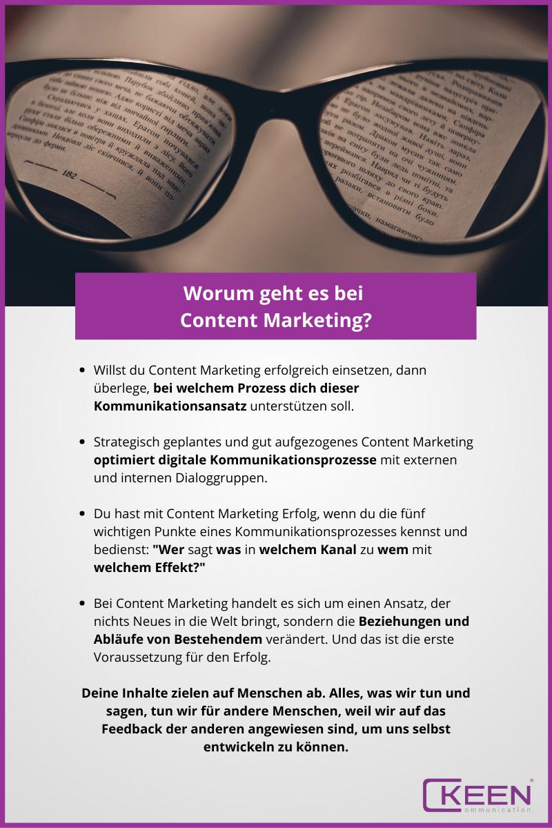 Worum geht es bei Content Marketing