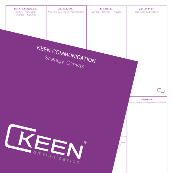 Strategy Canvas Keen Communication