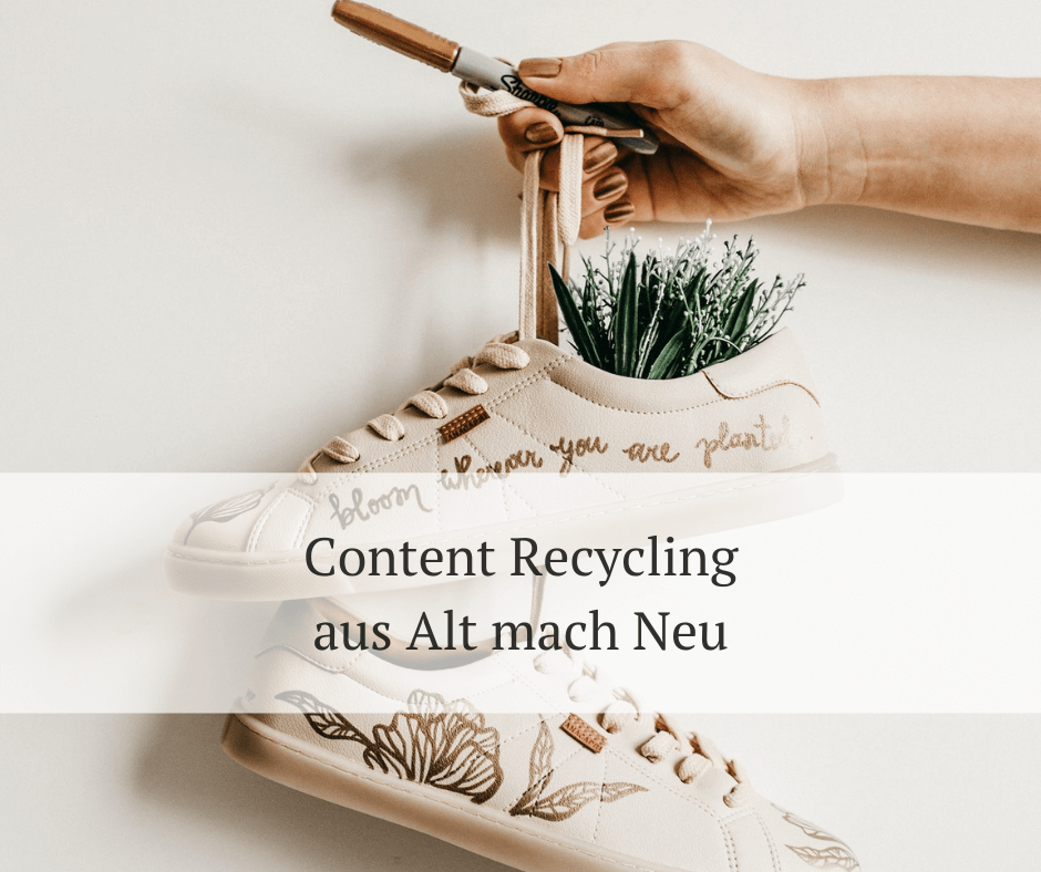 Content Recycling - So geht's!